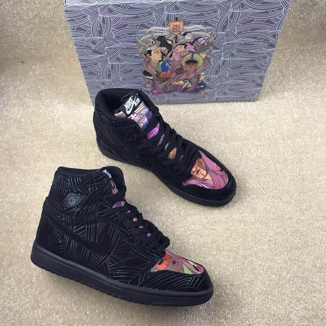 "Air Jordan 1 Retro High OG LHM ""Los Primeros POMB Shoes"