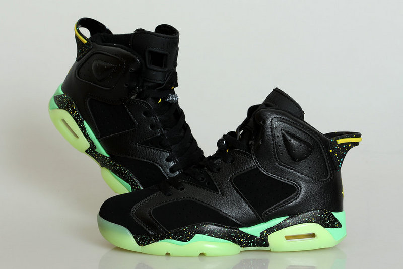 Midnight Jordan 6 Black Shoes For Women