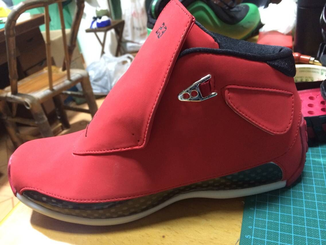 Air Jordan 18 Retro All Red