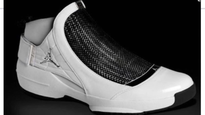 Air Jordan 19 White Black
