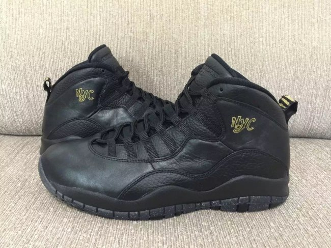 New Jordan 10 Retro All Black