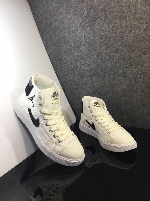 New 2016 Air Jordan 1 Black White Shoes
