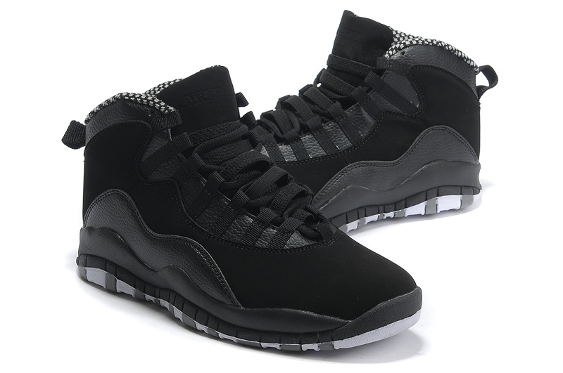 Jordan 10 Retro Shoes All Black