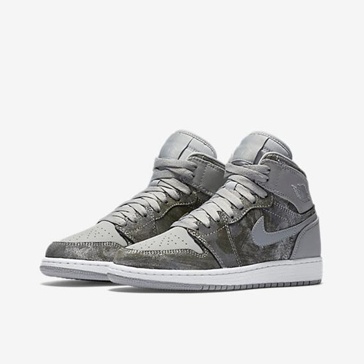 New Air Jordan 1 All Star Grey Silver Shoes