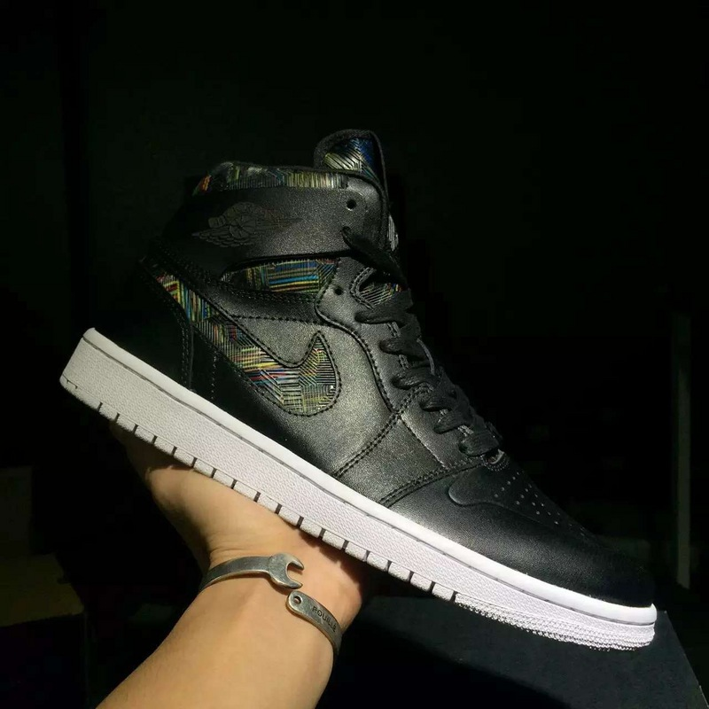 New Air Jordan 1 BHM Black Shoes