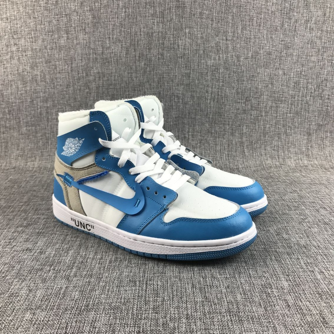 New Air Jordan 1 Blue White