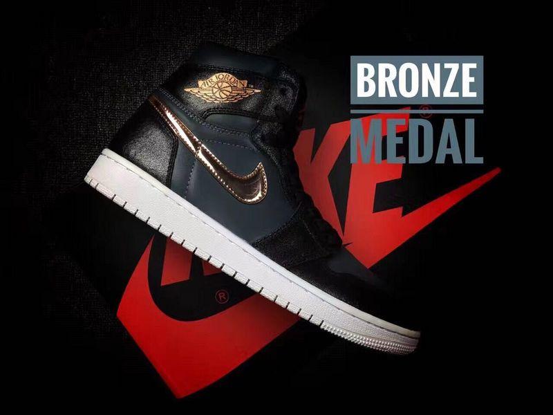New Air Jordan 1 Bronze Medal Shoes