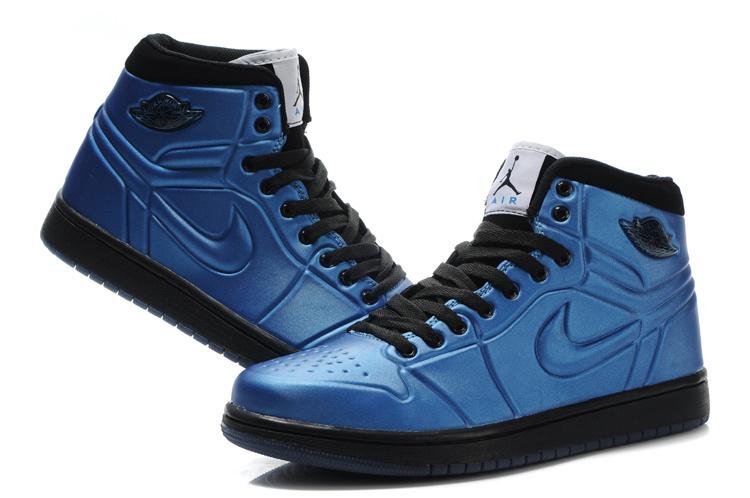 Air Jordan Retro 1 High Heel Blue Black