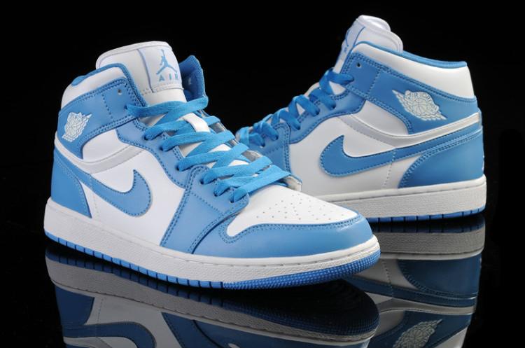 air jordan light blue