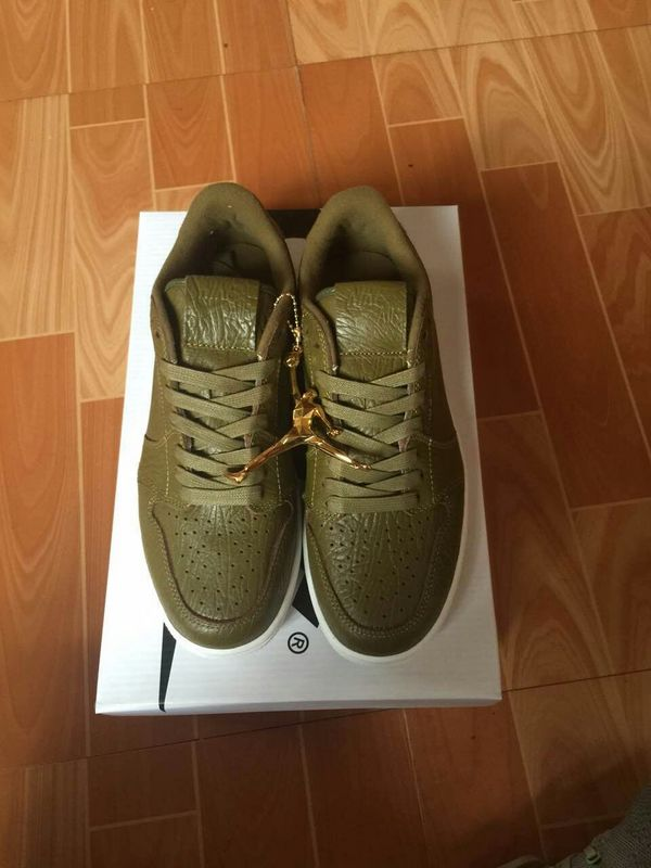 New Air Jordan 1 Low Army Shoes