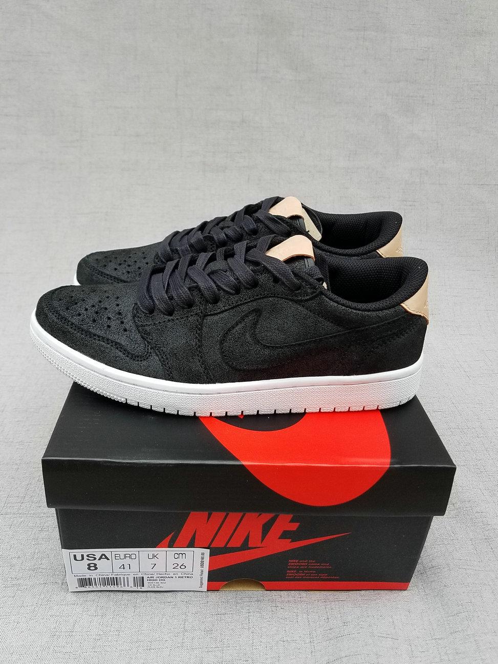 New Air Jordan 1 Low Black Brown Shoes
