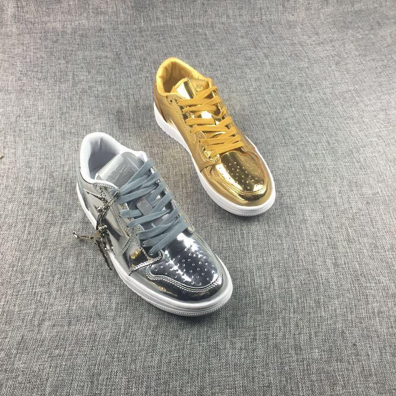 New Air Jordan 1 Low Liquid Mandarin Duck Shoes