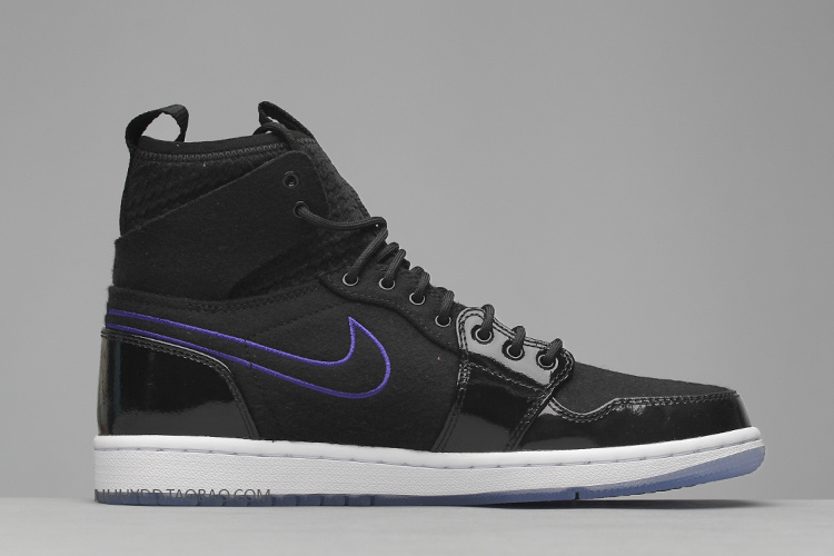 New Air Jordan 1 Retro Ultra High Black Blue Shoes