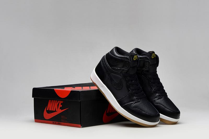 New Air Jordan 1.5 Black White Shoes