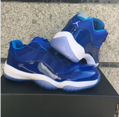 New Air Jordan 11 Low Royal Blue Shoes