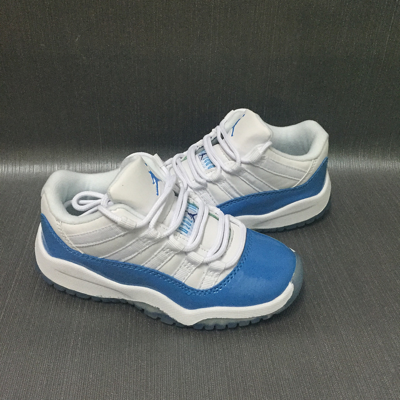 New Air Jordan 11 North Carnolina Shoes For Kids