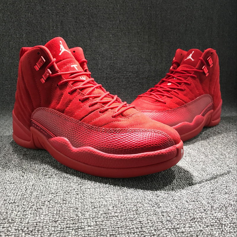 New Air Jordan 12 Christmas Red Shoes