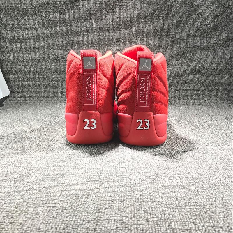 New Air Jordan 12 Christmas Red Shoes