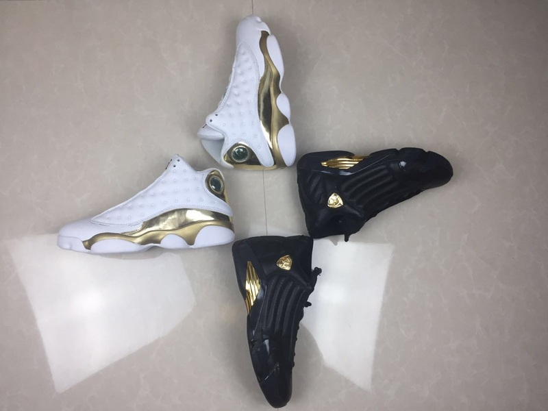 New Air Jordan 13&14 Champion DMP Pack