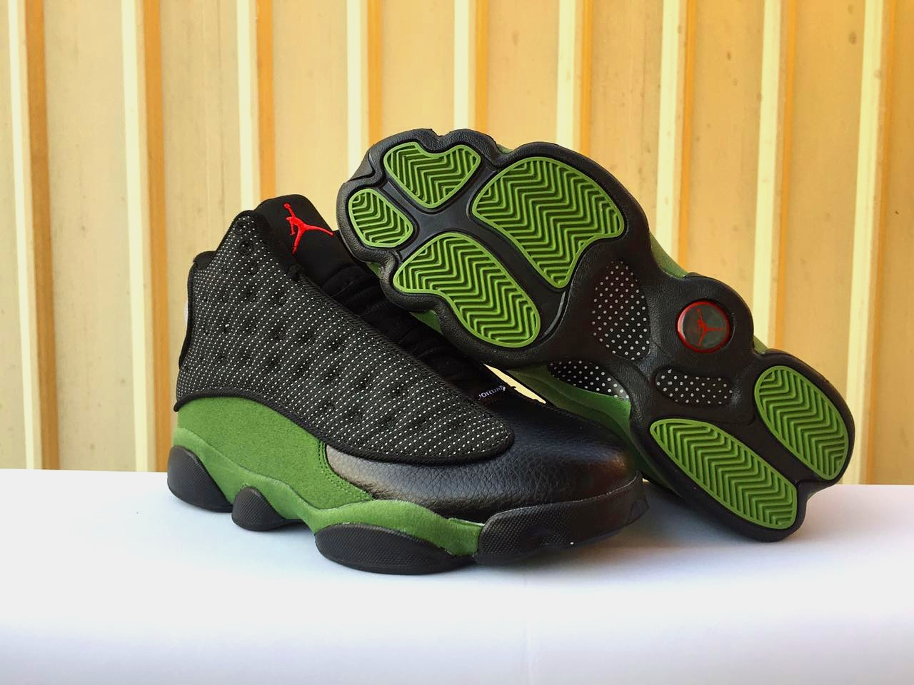 New Air Jordan 13 Black Olive Shoes