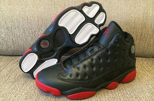 New Air Jordan 13 Black Red For Women