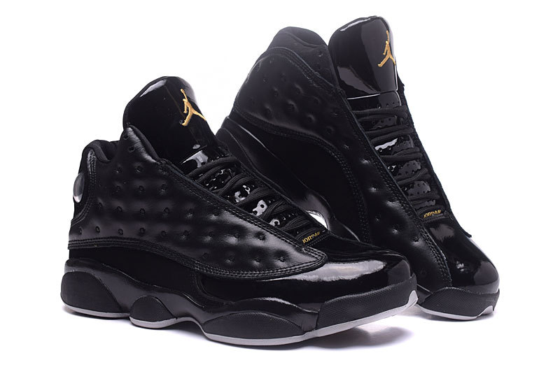 New Air Jordan 13 Retro Leonard All Black Shoes