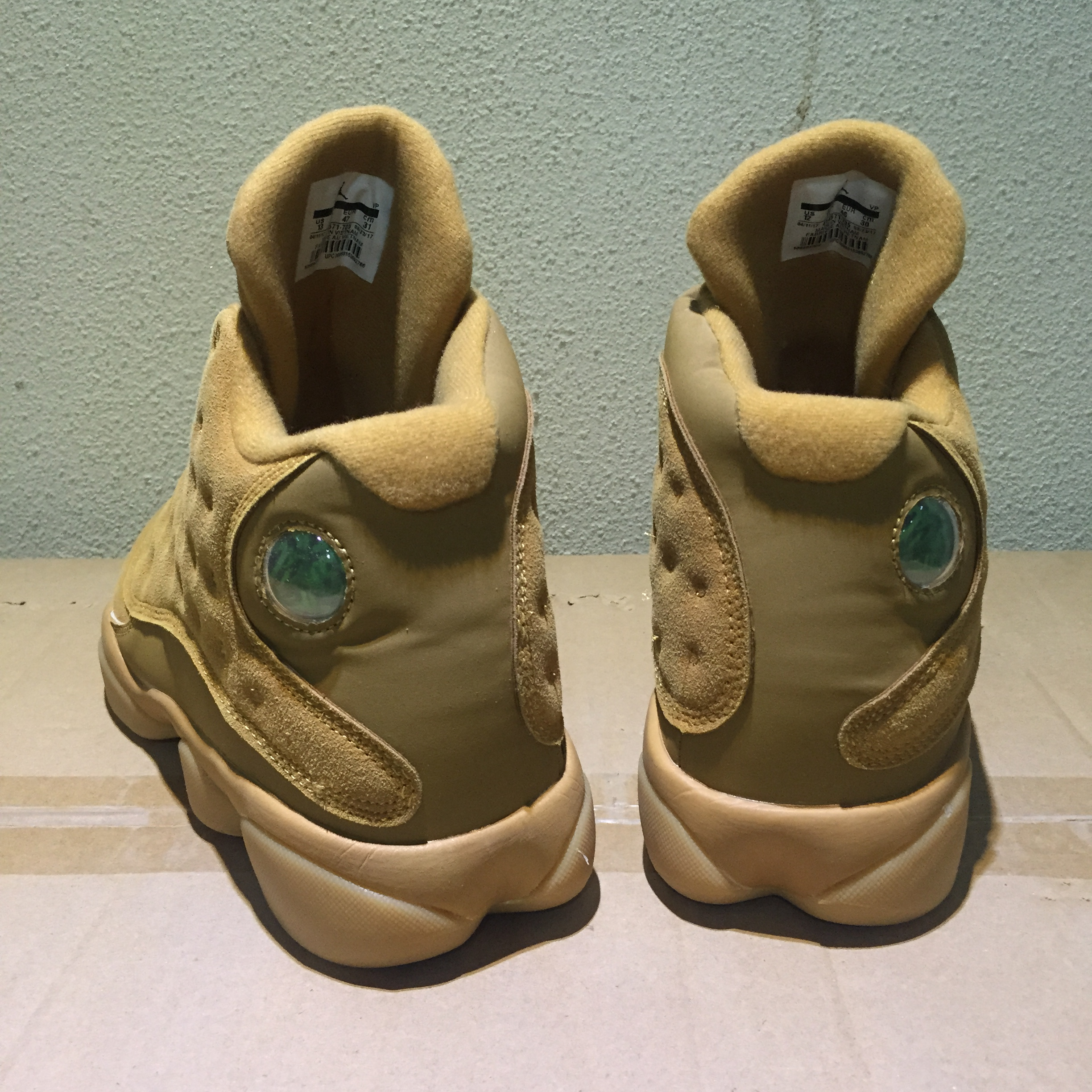 New Air Jordan 13 Retro Wheat Shoes