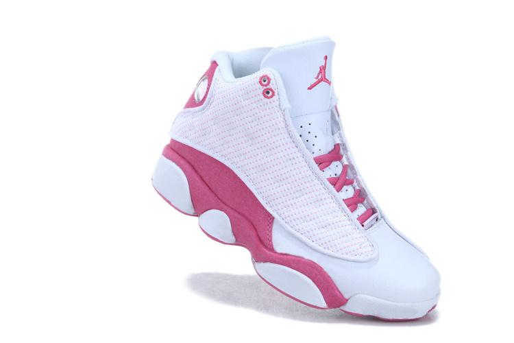 2013 air jordan 13 white pink for women cheap 2013 air