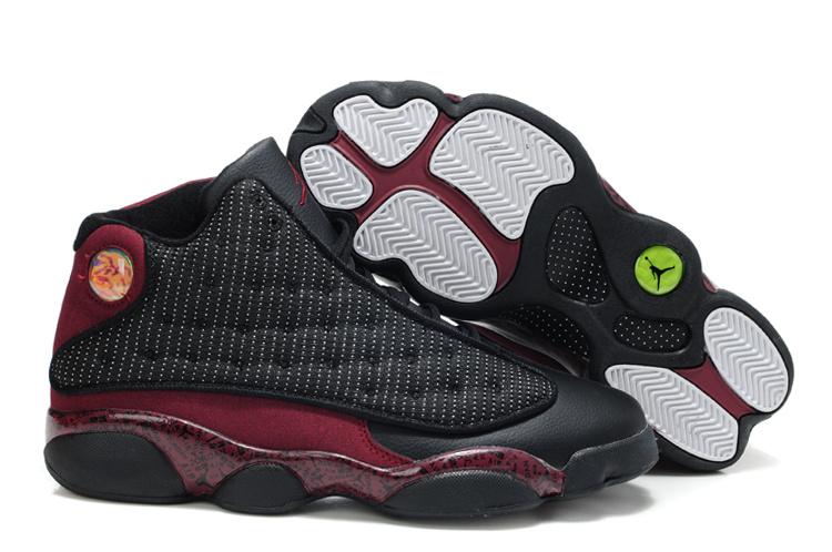 Latest Air Jordan 13 White Wine Red Shoes