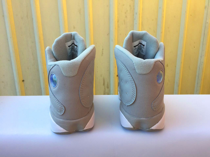 New Air Jordan 13 Wolf Grey White Shoes