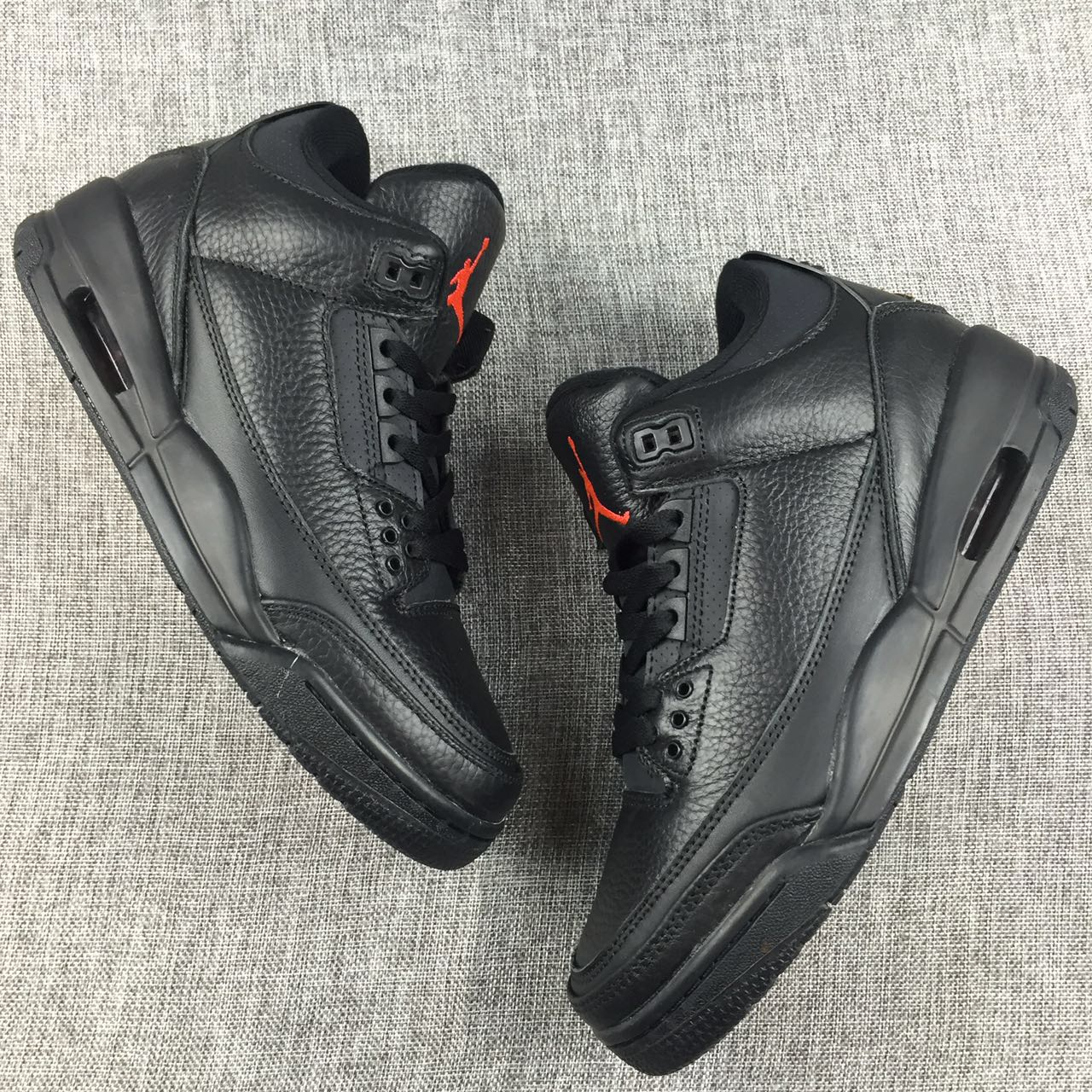 New Air Jordan 3 OVO Black Red Shoes