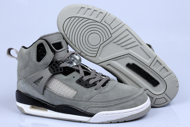 New Air Jordan 3.5 Suede Grey Black White Shoes