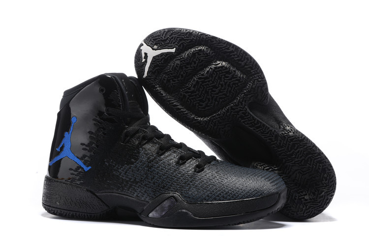 New Air Jordan 30.5 Black Blue Shoes