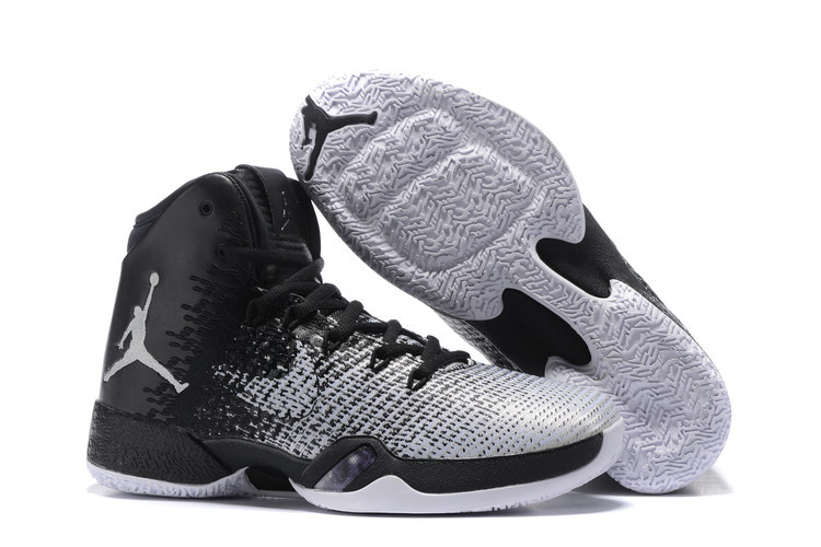 New Air Jordan 30.5 Oreo Grey Black Shoes