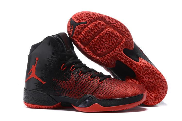New Air Jordan 30.5 Red Black Shoes