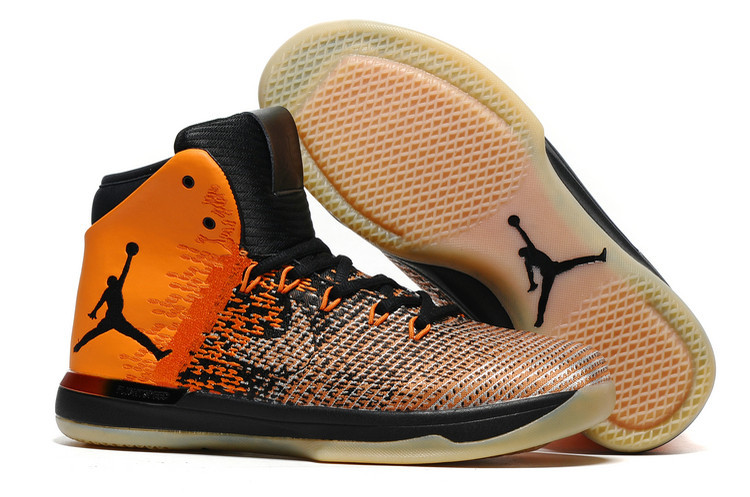 New Air Jordan 31 Orange Black Shoes
