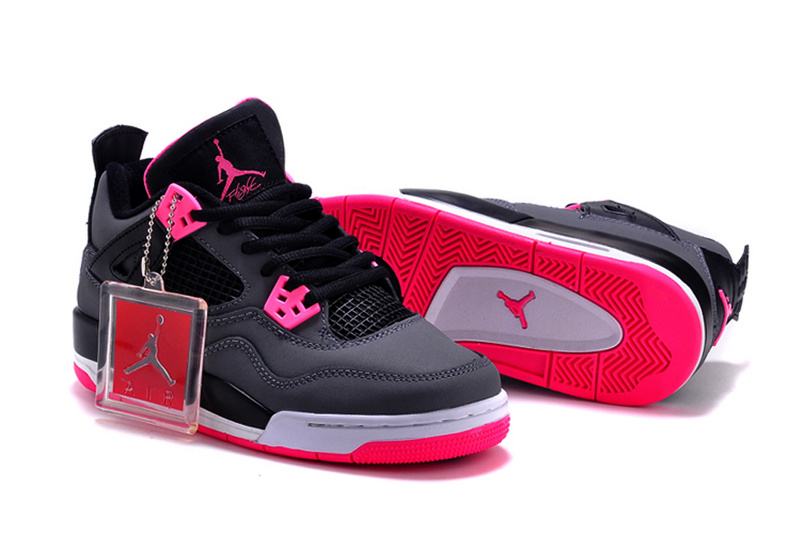 New Air Jordan 4 GS Hyper Pink Shoes For Women