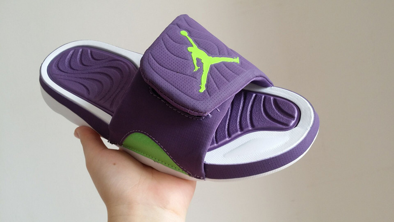New Air Jordan 4 Hydro Purple Fluorscent Green White