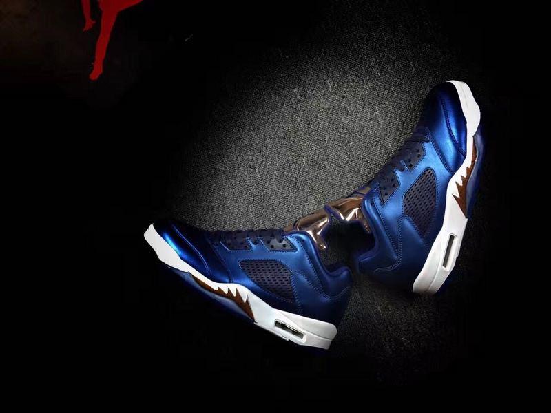 New Air Jordan 5 Low Bronze Medal Shoes