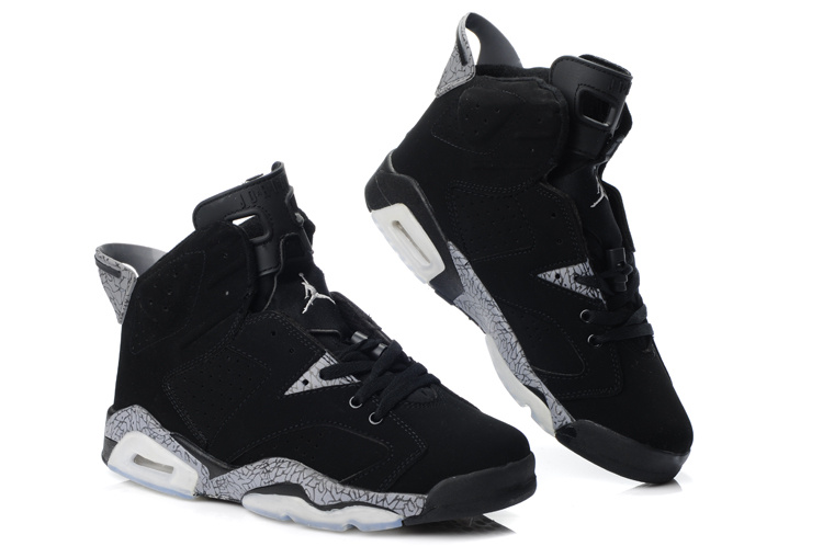Latest Air Jordan 6 Black Grey