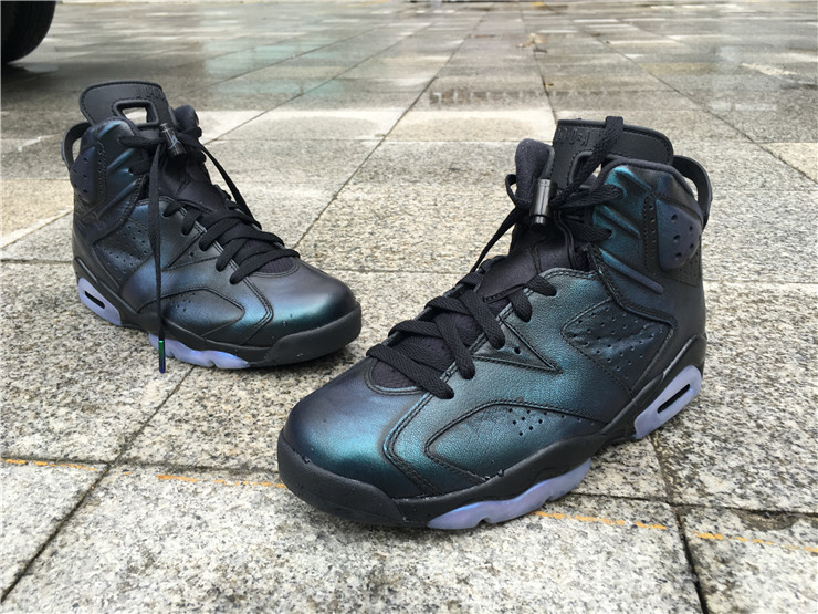 New Air Jordan 6 Chameleon Shoes