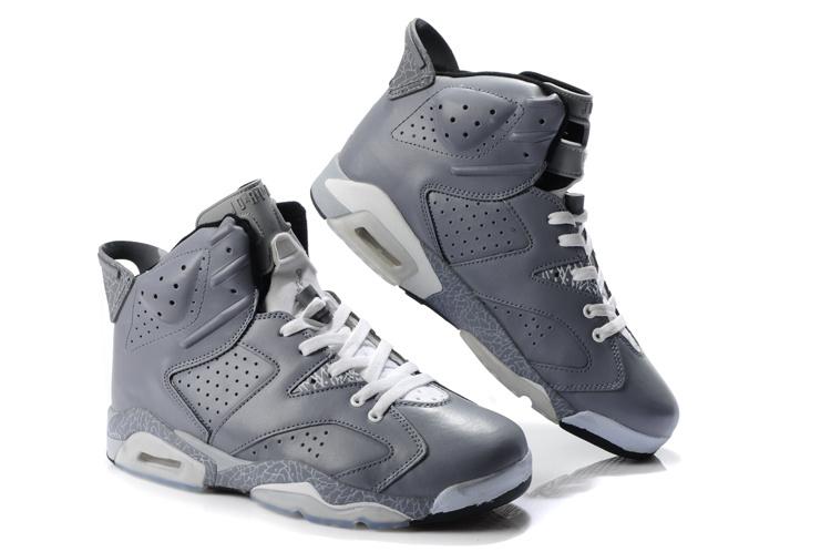 Latest Air Jordan 6 Grey