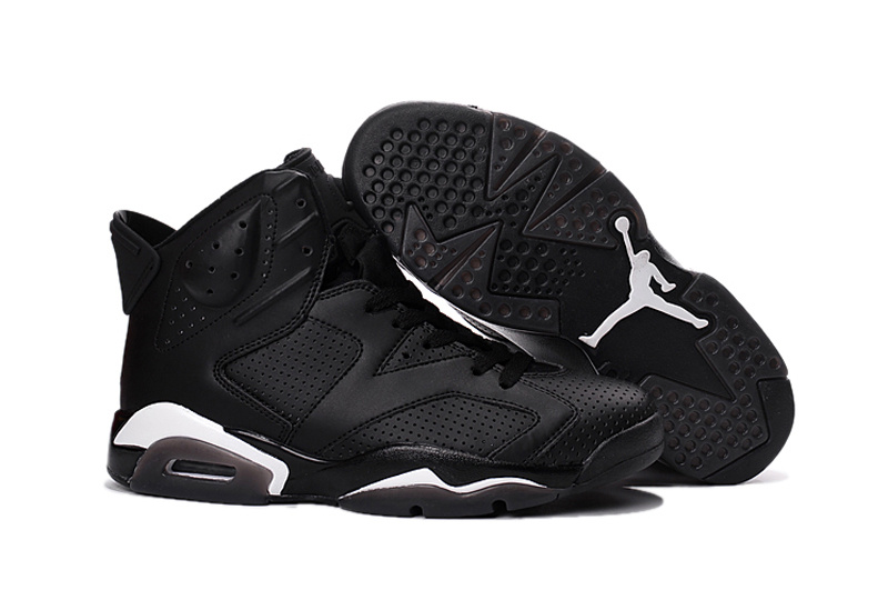 New Air Jordan 6 Retro All Black Cat Shoes