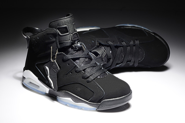 retro 6 black and white New Air Jordan ...