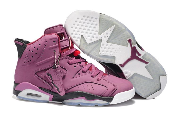New Air Jordan 6 Retro Pink White Shoes