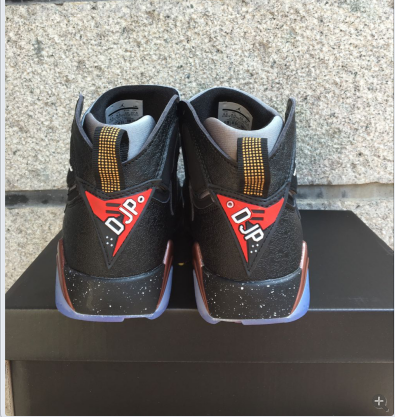 New Air Jordan 7 Retro Black Bronze Shoes