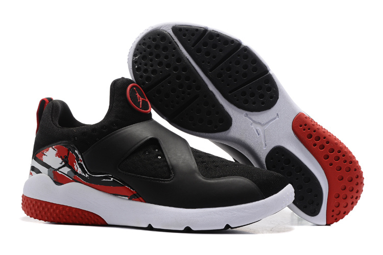 New Air Jordan 8 Black Red White Training Shoes