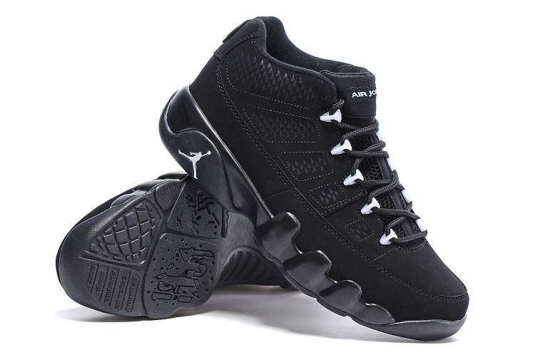 New Air Jordan 9 Low All Black Shoes