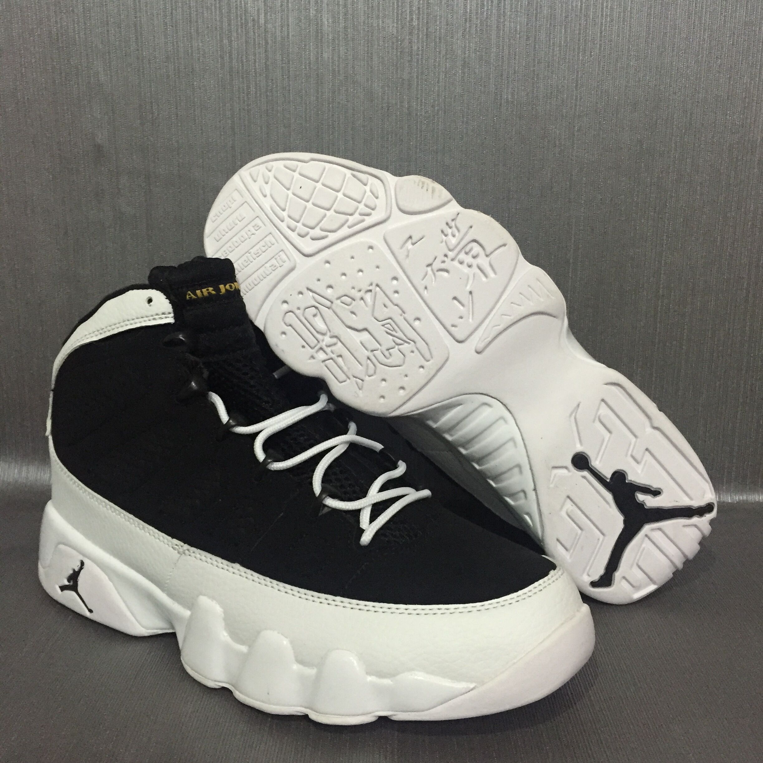 New Air Jordan 9 Oreo Shoes
