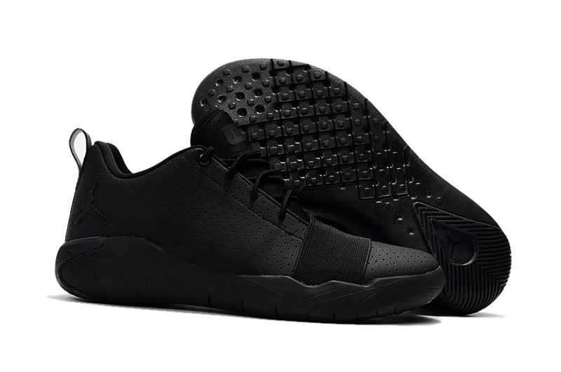 New Air Jordan Breakthrough All Black Basketball Shoes